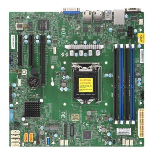 Серверная материнская плата Supermicro X11SCL-F (MBD-X11SCL-F-B)