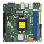 Серверная материнская плата Supermicro X11SCL-IF