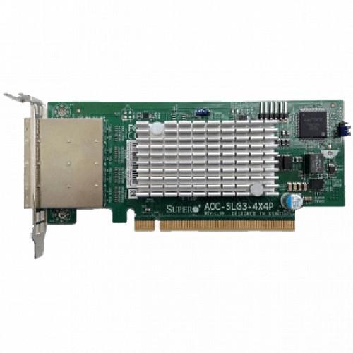 Аксессуар для сервера Supermicro AOC-SLG3-4X4P-O (AOC-SLG3-4X4P-O)