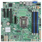 Серверная материнская плата Intel S1200SPSR