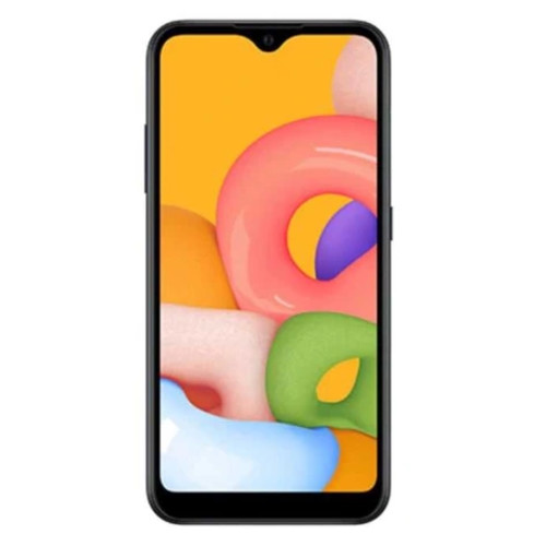 Смартфон Samsung Galaxy M01 32Gb 3Gb Black (SM-M015FZKDSER)