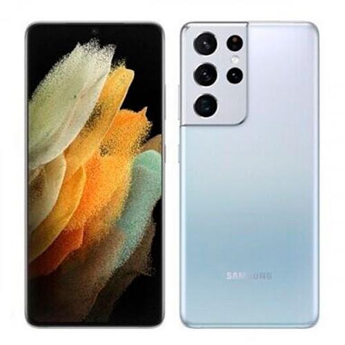 Смартфон Samsung Galaxy S21 Ultra 128Gb 12Gb серебряный (SM-G998BZSDSER)