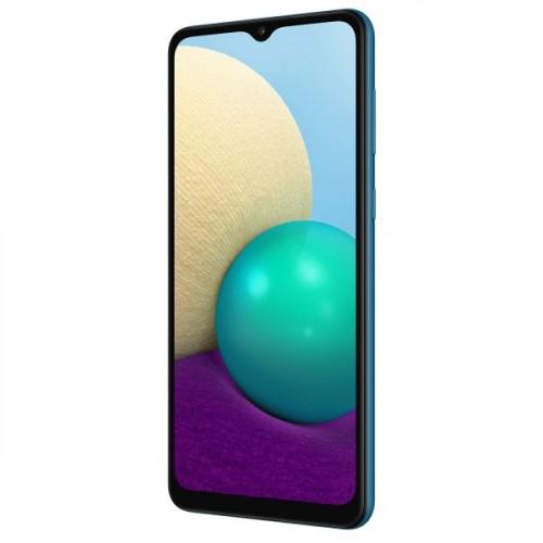 Смартфон Samsung Galaxy A02 SM-A022 32Gb 2Gb синий (SM-A022GZBBSER)