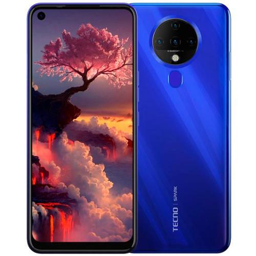Смартфон TECNO Spark 6 4/64 KE7 Ocean Blue (KE7-64-BLUE)