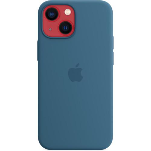 Аксессуары для смартфона Apple Чехол iPhone 13 mini Silicone Case with MagSafe - Blue (MM1Y3ZM/A)