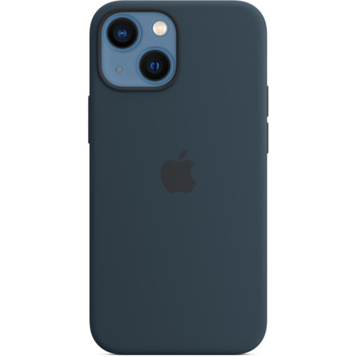 Аксессуары для смартфона Apple Чехол iPhone 13 mini Silicone Case with MagSafe - Abyss Blue (MM213ZM/A)