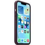 Аксессуары для смартфона Apple Чехол iPhone 13 Leather Case with MagSafe - Dark Cherry