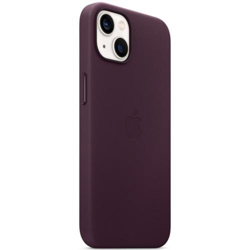 Аксессуары для смартфона Apple Чехол iPhone 13 Leather Case with MagSafe - Dark Cherry (MM143ZM/A)