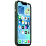 Аксессуары для смартфона Apple Чехол iPhone 13 Leather Case with MagSafe - Sequoia Green