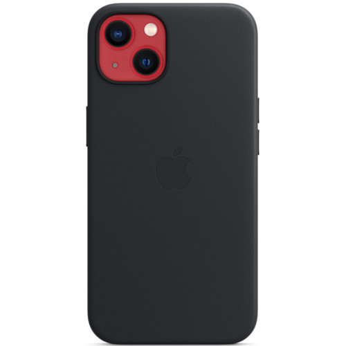 Аксессуары для смартфона Apple Чехол iPhone 13 Leather Case with MagSafe - Midnight (MM183ZM/A)