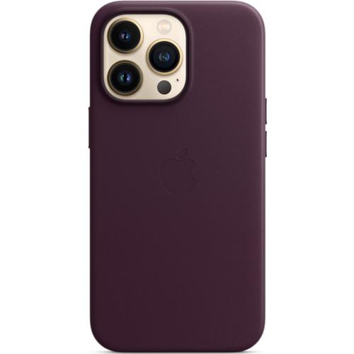 Аксессуары для смартфона Apple Чехол iPhone 13 Pro Leather Case with MagSafe - Dark Cherry (MM1A3ZM/A)