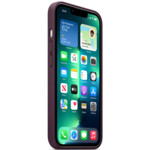 Аксессуары для смартфона Apple Чехол iPhone 13 Pro Leather Case with MagSafe - Dark Cherry