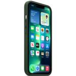 Аксессуары для смартфона Apple Чехол iPhone 13 Pro Leather Case with MagSafe - Sequoia Green