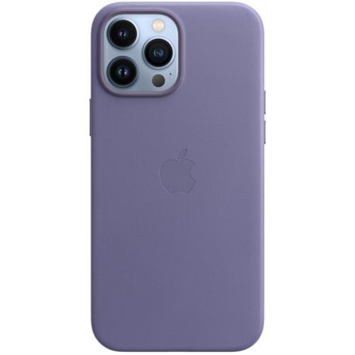 Аксессуары для смартфона Apple Чехол iPhone 13 Pro Max Leather Case with MagSafe - Wisteria (MM1P3ZM/A)