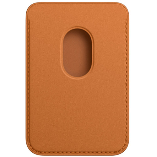 Аксессуары для смартфона Apple Чехол для карт iPhone Leather Wallet with MagSafe - Golden Brown (MM0Q3ZM/A)