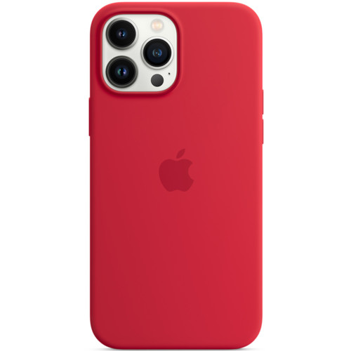 Аксессуары для смартфона Apple Чехол iPhone 13 Pro Max Silicone Case with MagSafe – (PRODUCT)RED (MM2V3ZM/A)