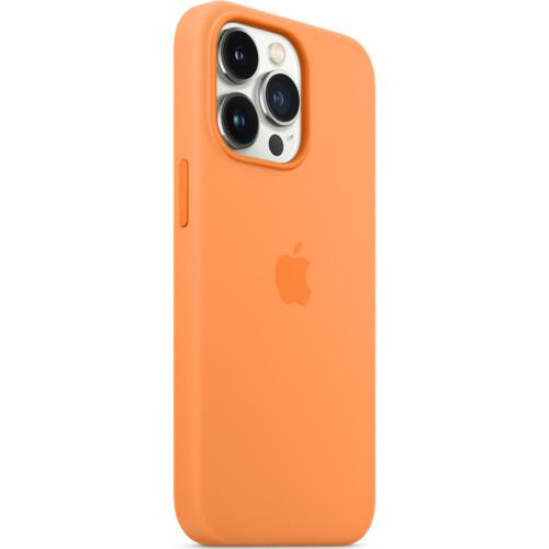 Аксессуары для смартфона Apple Чехол iPhone 13 Pro Silicone Case with MagSafe – Marigold (MM2D3ZM/A)
