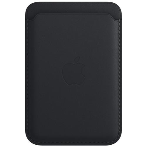 Аксессуары для смартфона Apple Чехол для карт iPhone Leather Wallet with MagSafe - Midnight (MM0Y3ZM/A)