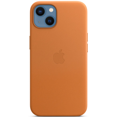 Аксессуары для смартфона Apple Чехол iPhone 13 Leather Case with MagSafe - Golden Brown (MM103ZM/A)