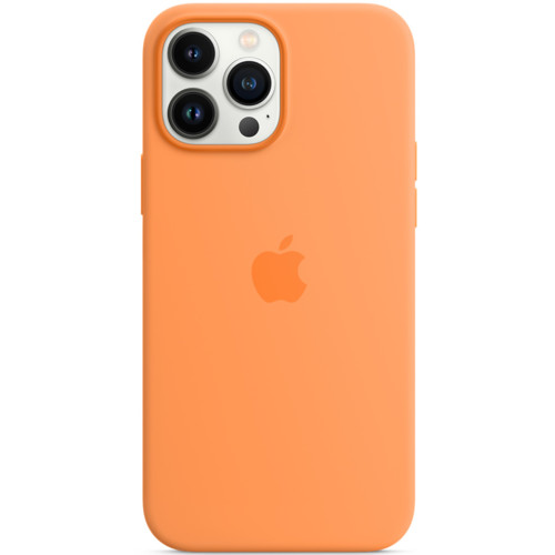 Аксессуары для смартфона Apple Чехол iPhone 13 Pro Max Silicone Case with MagSafe – Marigold (MM2M3ZM/A)