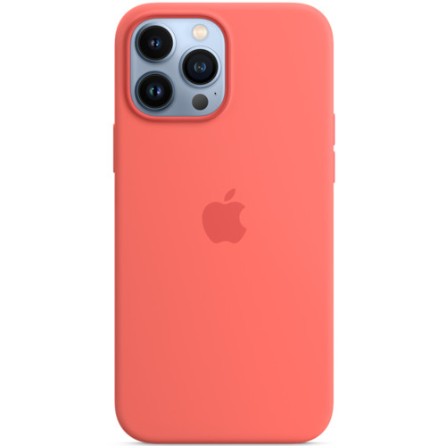 Аксессуары для смартфона Apple Чехол iPhone 13 Pro Max Silicone Case with MagSafe – Pink Pomelo (MM2N3ZM/A)