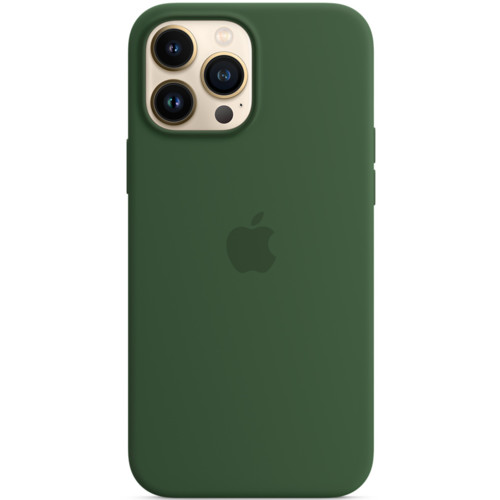 Аксессуары для смартфона Apple Чехол iPhone 13 Pro Max Silicone Case with MagSafe – Clover (MM2P3ZM/A)