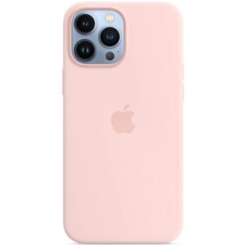 Аксессуары для смартфона Apple Чехол iPhone 13 Pro Max Silicone Case with MagSafe – Chalk Pink (MM2R3ZM/A)