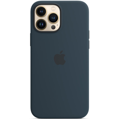 Аксессуары для смартфона Apple Чехол iPhone 13 Pro Max Silicone Case with MagSafe – Abyss Blue (MM2T3ZM/A)
