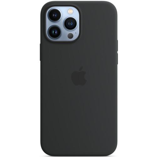 Аксессуары для смартфона Apple Чехол iPhone 13 Pro Max Silicone Case with MagSafe – Midnight (MM2U3ZM/A)