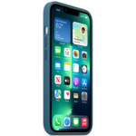 Аксессуары для смартфона Apple Чехол iPhone 13 Pro Silicone Case with MagSafe – Blue Jay