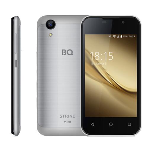 Смартфон BQ 4072 Strike Mini Silver (BQ-4072Серебряный Шлифов)