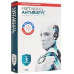 Антивирус Eset Универсальная лицензия на 1 год на 3ПК или продление на 20 мec.