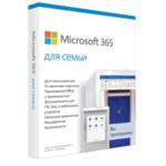 Офисный пакет Microsoft MS Microsoft 365 Family