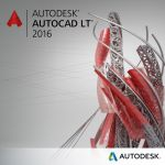 Графический пакет Autodesk AutoCAD LT 2016 Commercial New SLM