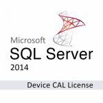 Система управления базами данных СУБД Microsoft SQLCAL 2014 SNGL OLP NL DvcCAL