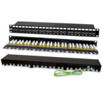 Патч-панель Hyperline PP2-19-24-8P8C-C6A-110D