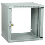 Серверный шкаф ITK LINEA WE 12U 600х600 мм дверь стекло серый