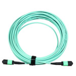 Оптический кабель LANMASTER Сборка кабельная MPO-MPO, тип B, низкие потери