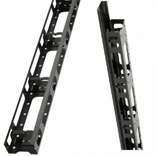 Аксессуар для серверного шкафа Estap Вертикальный  кабельный органайзер пальцевого типа с металлической крышкой для CloudMax Ш=800 (CLDOR42_02M50)