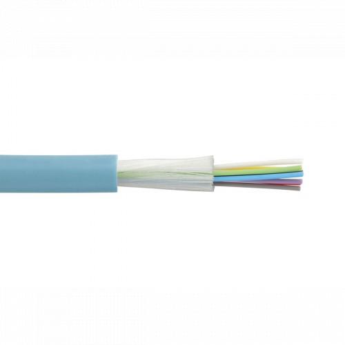 Оптический кабель Legrand Кабель оптоволоконный OM3 - многомодовый - внутренний/наружный - 6 волокон - LSZH (32485)