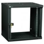 Серверный шкаф ITK Шкаф LINEA WE 6U 600x600мм дверь стекло черный