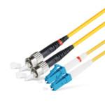 Оптический патч-корд АЗОП 2SC/UPC-2ST/UPC SM 9/125 Duplex 3.0мм 2 м