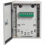 Оптический кросс А-Оптик PON Box 16  with 9pcs SC/APC SM Duplex adapter
