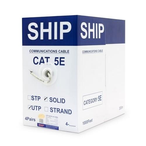 Кабель витая пара SHIP Кабель сетевой D135-P, Cat.5e, UTP, 305 м/б (D135-P)