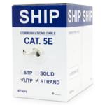 Кабель витая пара SHIP Кабель сетевой, D135S-P, Cat.5e, UTP, 305 м/б (Многожильный)