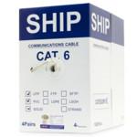 Кабель витая пара SHIP Кабель сетевой, SHIP, D165-P, Cat.6, 305 м/б