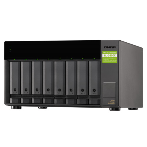 Дисковая полка для системы хранения данных СХД и Серверов Qnap TL-D800C (TL-D800C)