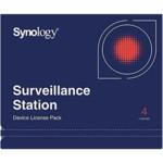 Брендированный софт Synology пакет лицензий на 4 IP- камеры/устройства