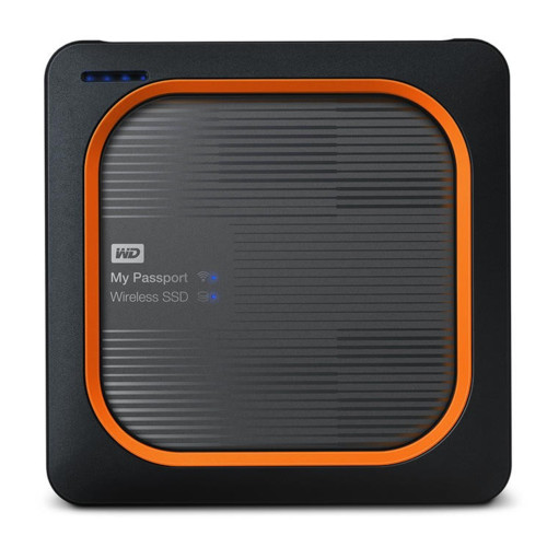Внешний жесткий диск Western Digital My Passport Wireless 1000 GB Wi-Fi (WDBAMJ0010BGY-RESN)