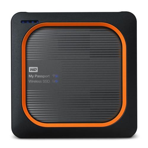 Внешний жесткий диск Western Digital My Passport Wireless 2000 GB Wi-Fi (WDBAMJ0020BGY-RESN)
